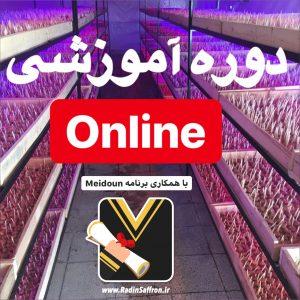 دوره آموزشی آنلاین زعفران