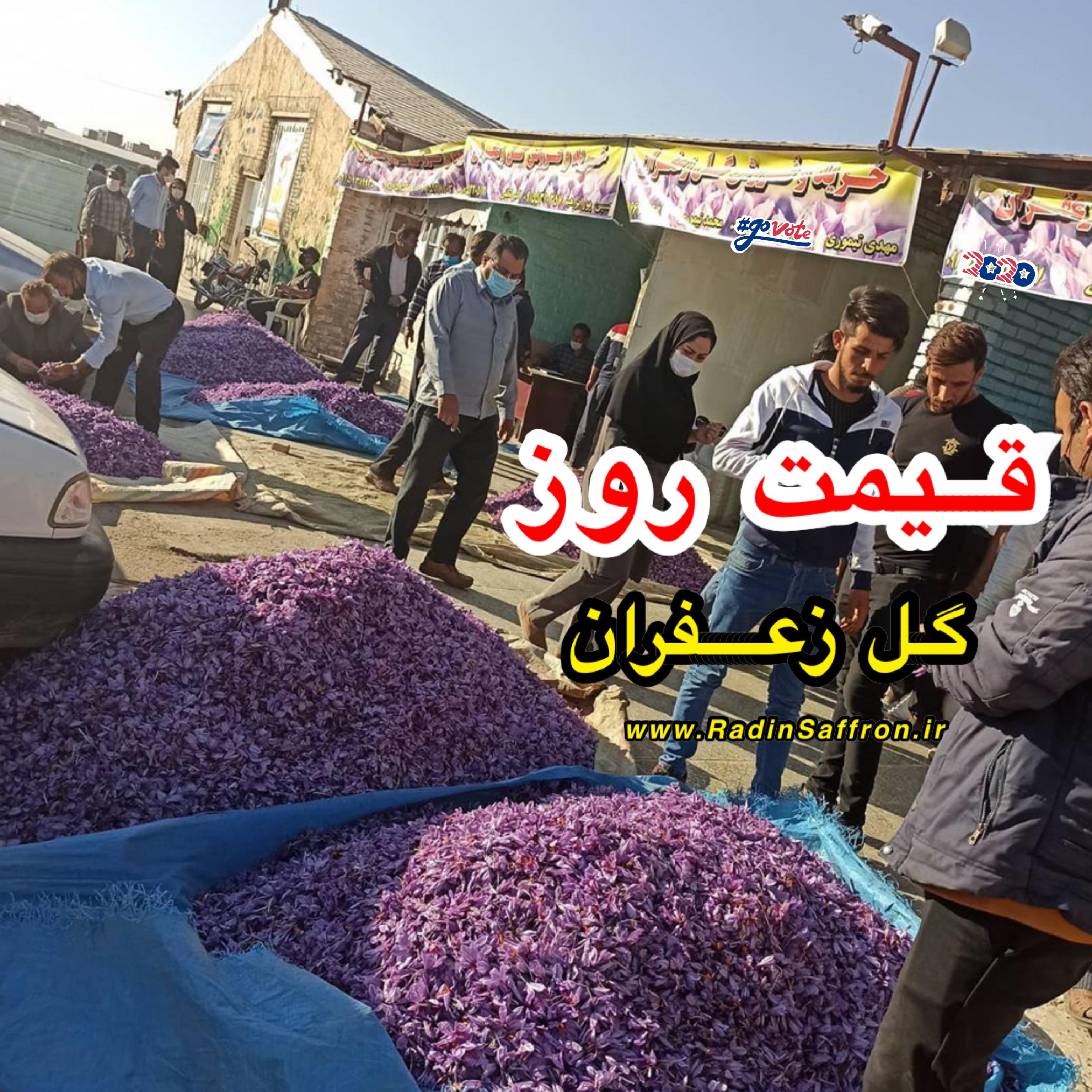 قیمت گل تازه زعفران